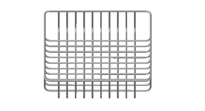 Display basket details 3d