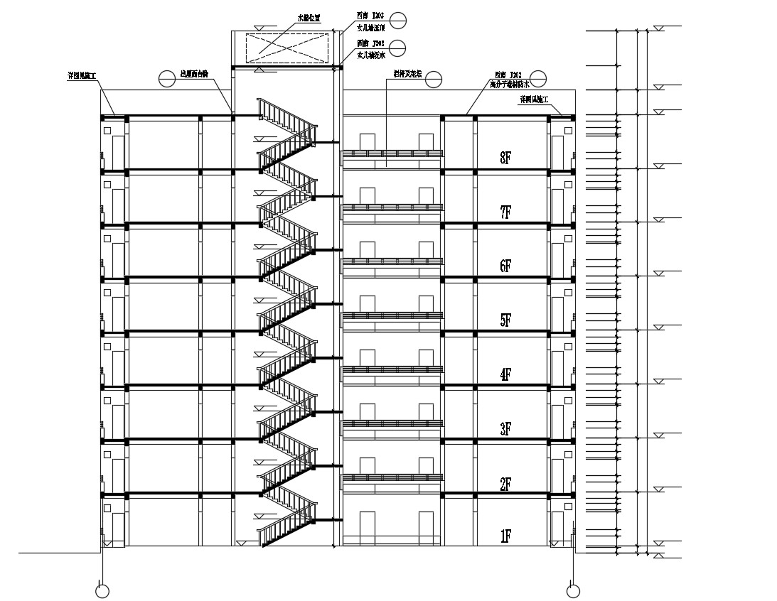 Download Building Section CAD Drawing