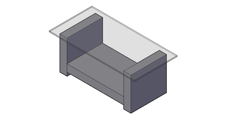 Download Free Table 3D Model In DWG File
