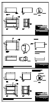 Drawer design drawing of 90 cm.