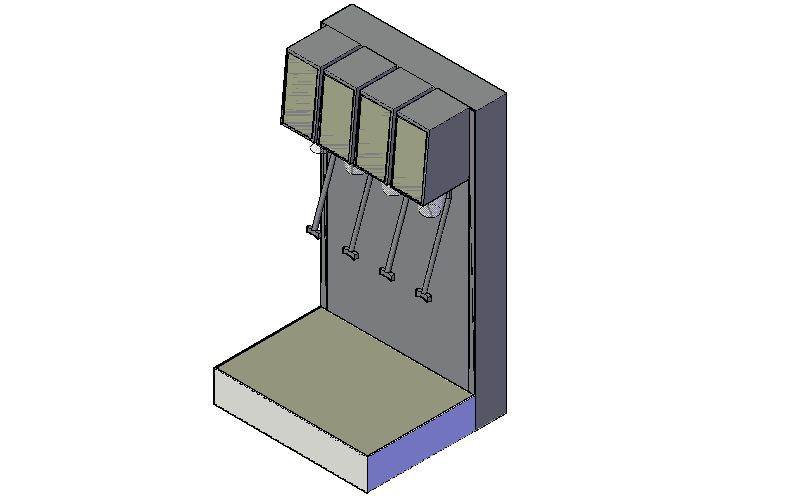 Download Free Drink Dispenser In CAD Drawings