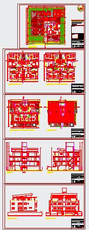 Duplex building departments design drawing