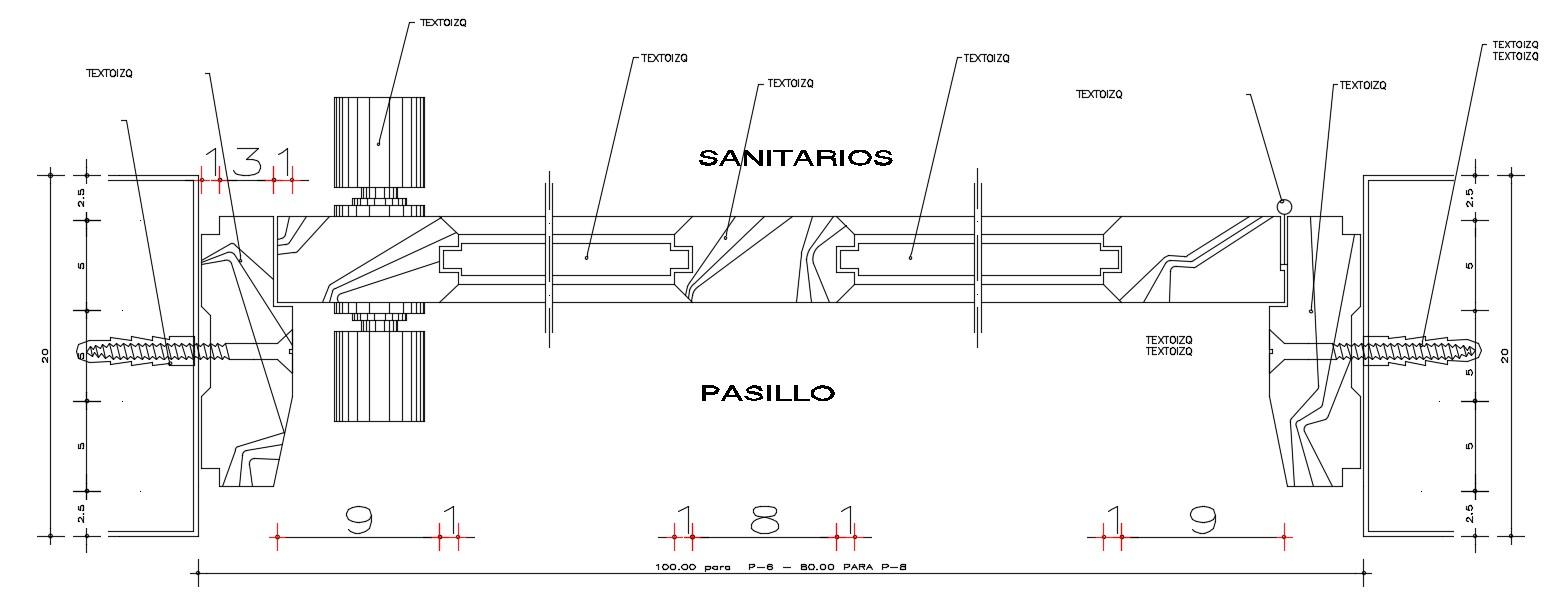 Dynamic Door Block AutoCAD drawing