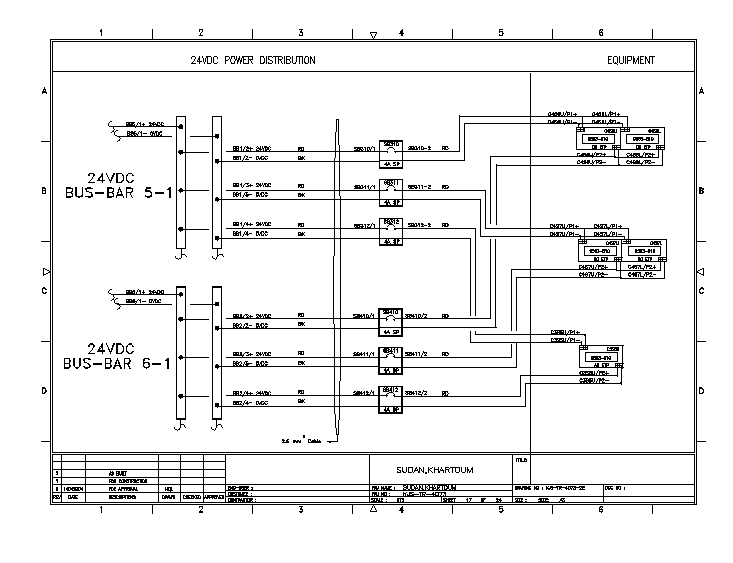 Electric detail DWG file