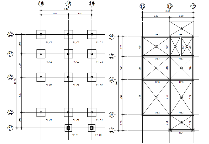 House Electrical Layout In AutoCAD File