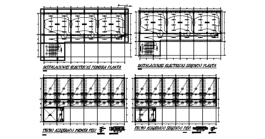 House Electrical Layout Plan In AutoCAD File