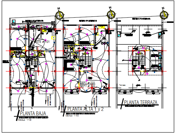 Electric plan detail dwg detail