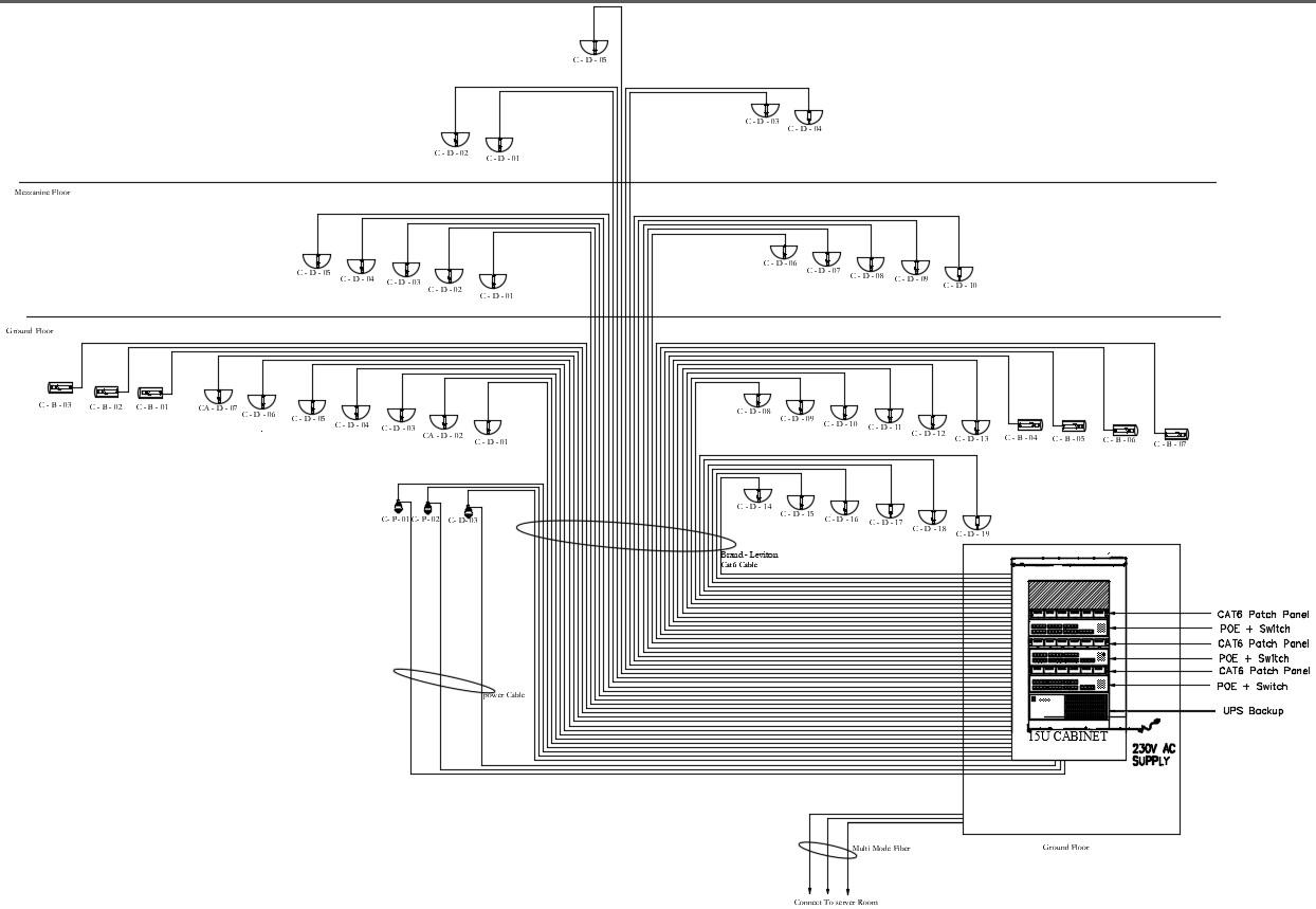 Electrical Circuit CAD Diagram - Cadbull on