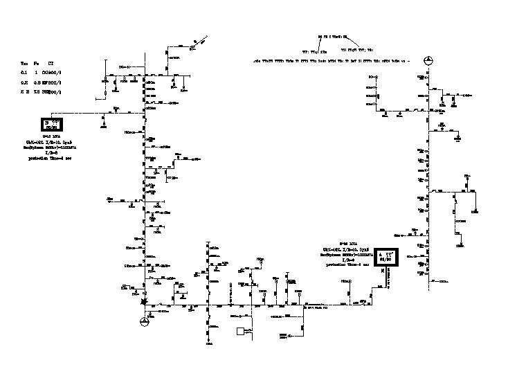 Electrical Line Diagram design