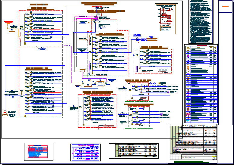 Electrical view of bank agency dwg file
