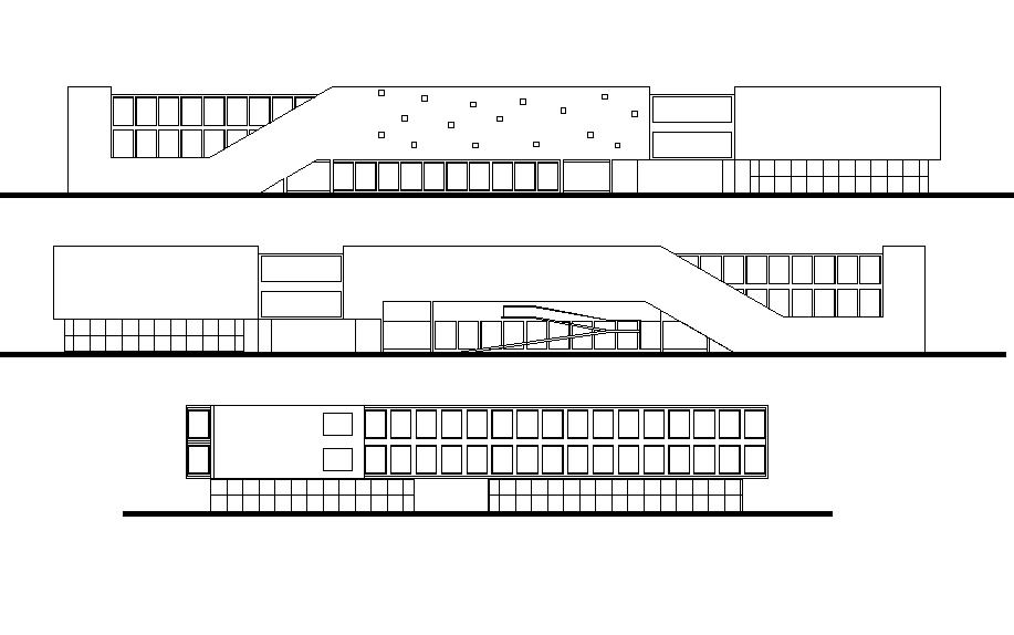 Elevation detail dwg file