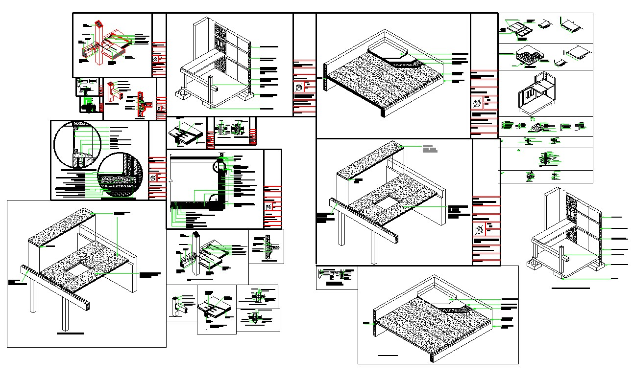 Fabrications detail autocad dwg files