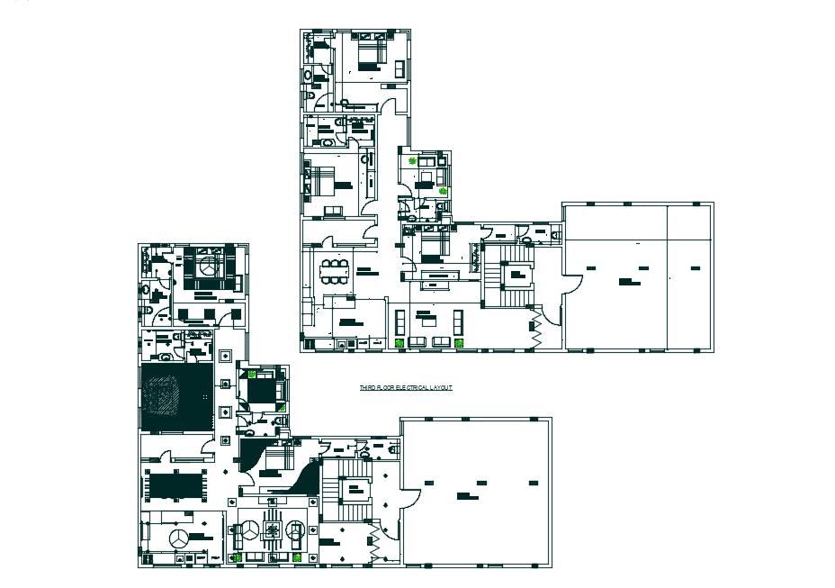 False ceiling designs with floor plan dwg file