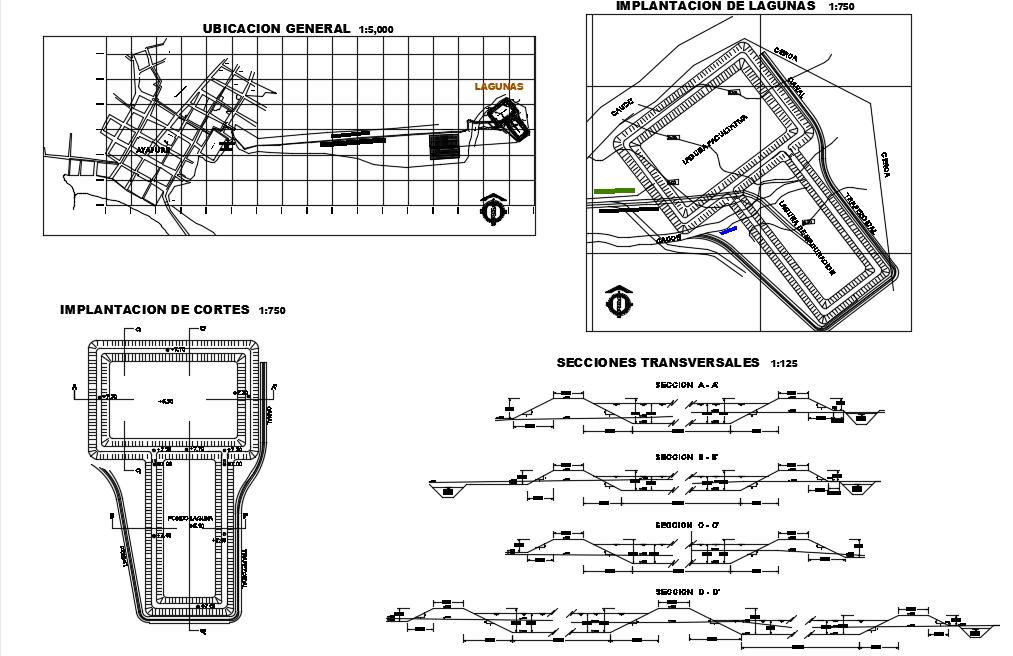 Final design of sewageayapure Dwg file.