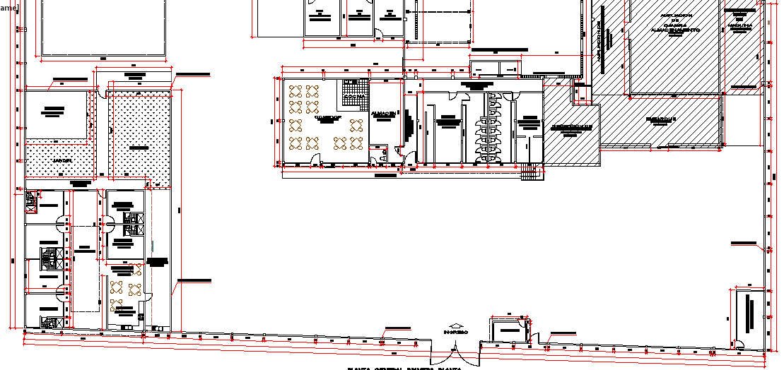 Fish Processing Plant Design and Structure and section Details dwg file