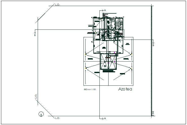 Floor plan balance sheet data and plan layout detail dwg file