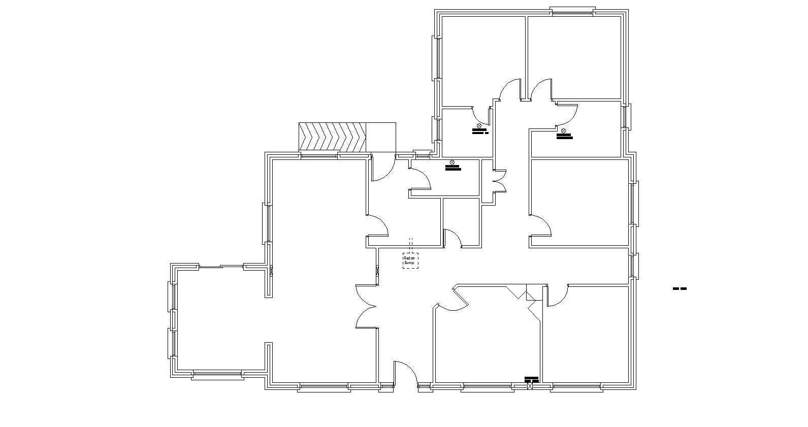 electrical house plan layout floor plan of house with electric layout in autocad cadbull  floor plan of house with electric