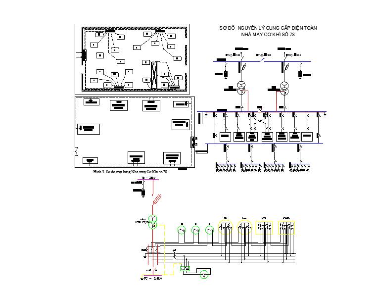 Floor plan of Mechanical Workshop