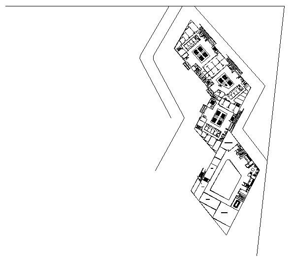 Floor plan of restaurant