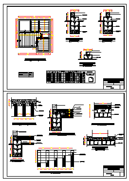 Foundations design drawing
