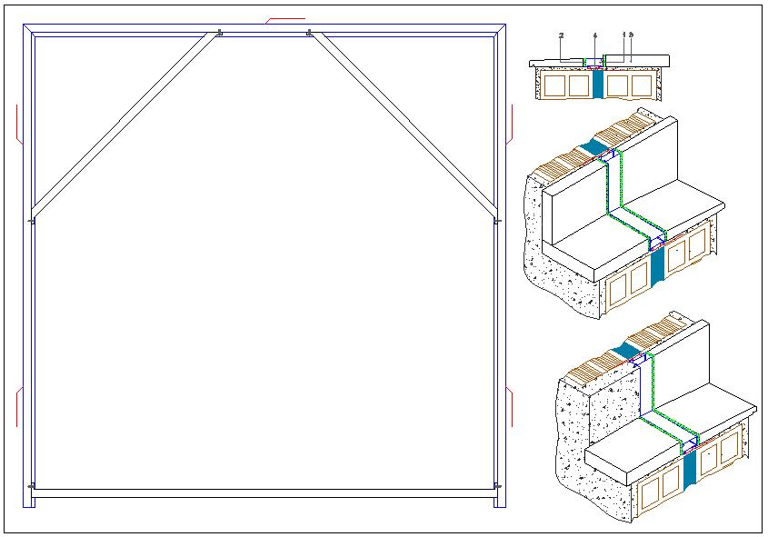 Frame detail design