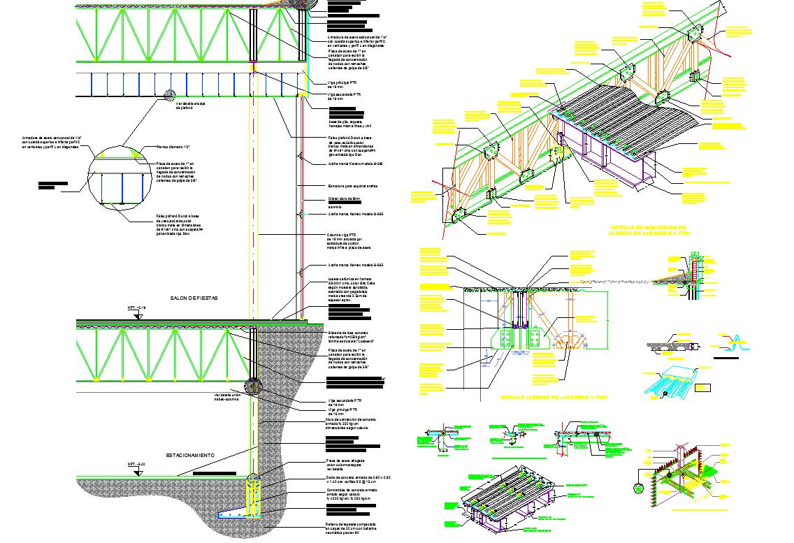 Framing Joint Detail dwg file