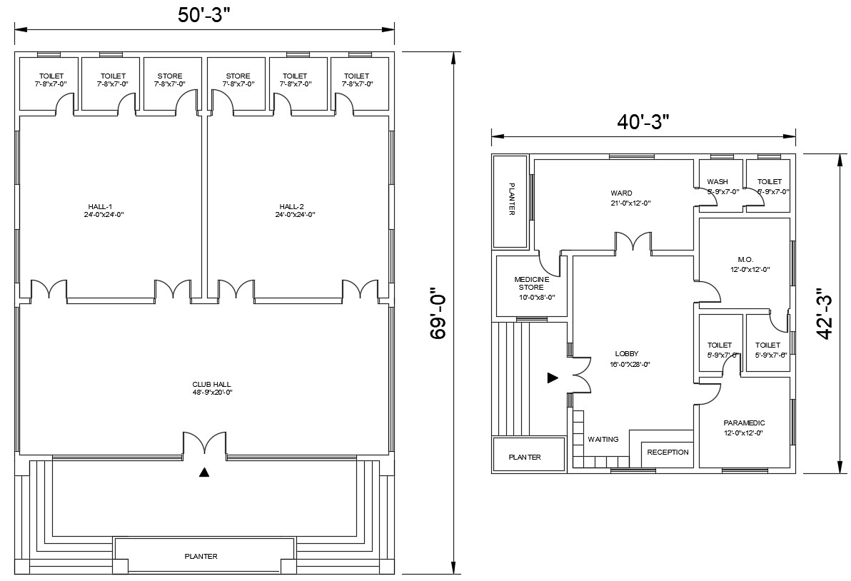 Free Building Floor Plans