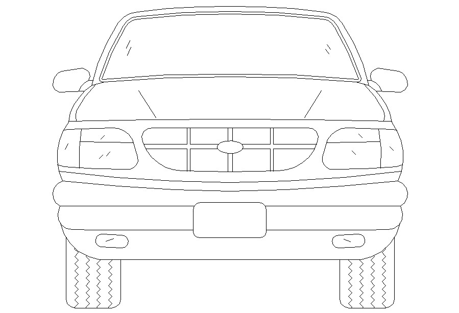 Free Download Vehicle CAD Blocks