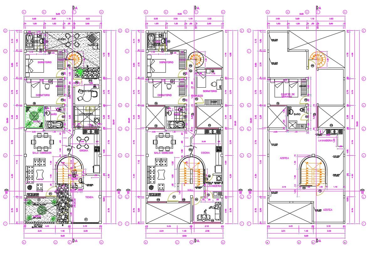 Free download house plan drawing