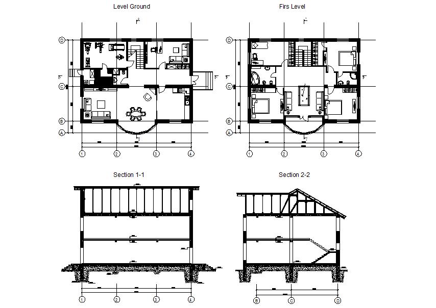 Furniture detailing of a villa