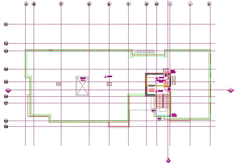 Furniture plan layout