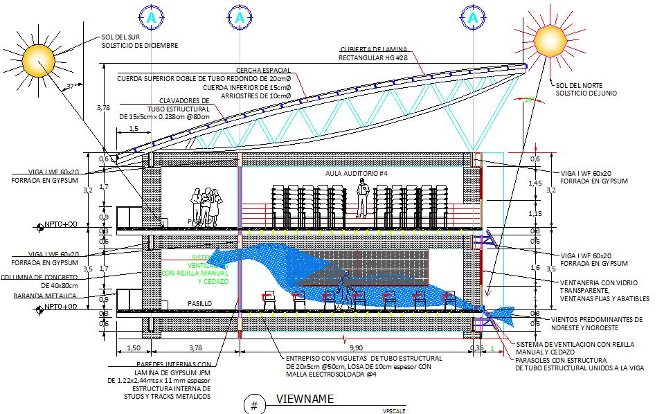 Graduate studio layout plan dwg file