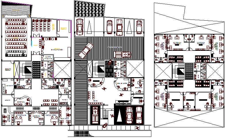 Second Floor Plan Details Of Ministry