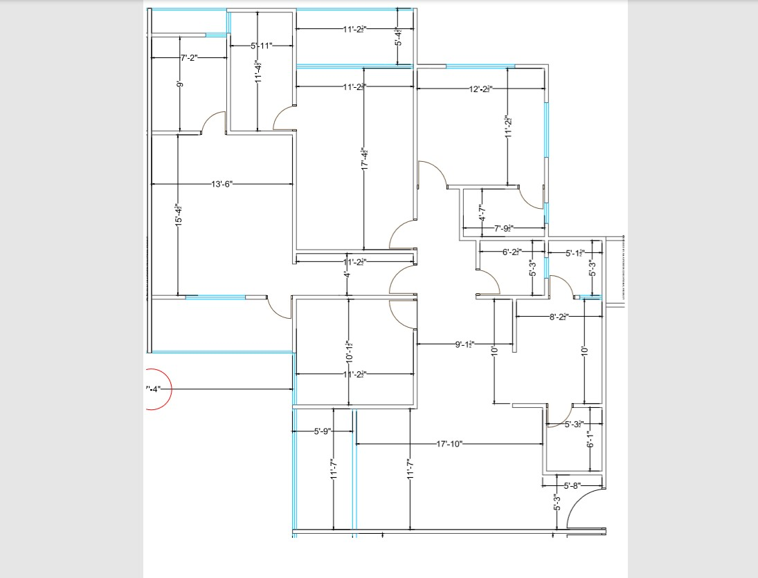 Ground floor framing plan details of one family house pdf file