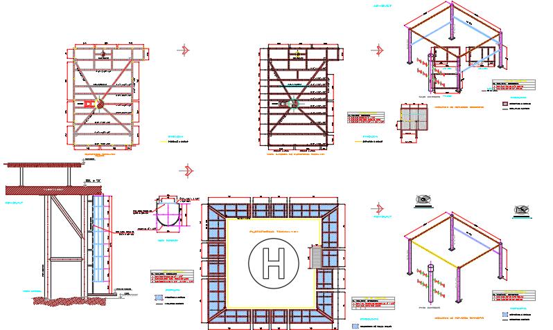 Heliport details