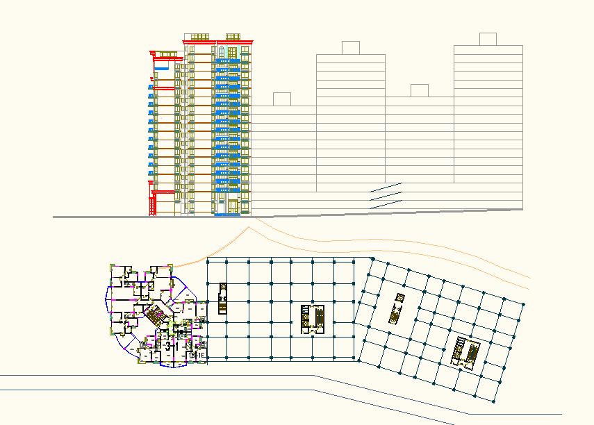 High Rise Apartment Building Design