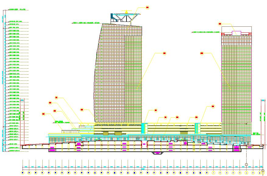 High Rise Building Elevation Design