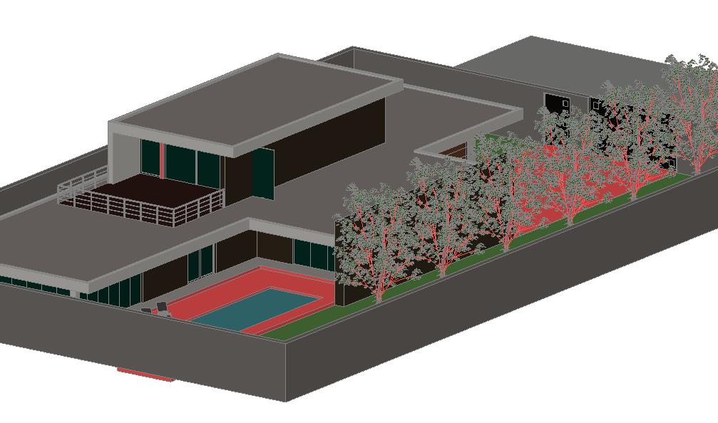 Home 3 D plan detail