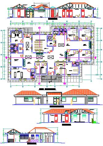 Hospital--designstudy dwg file