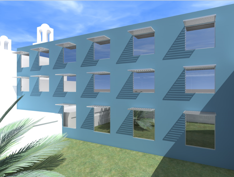 Hotels 3d plan dwg file