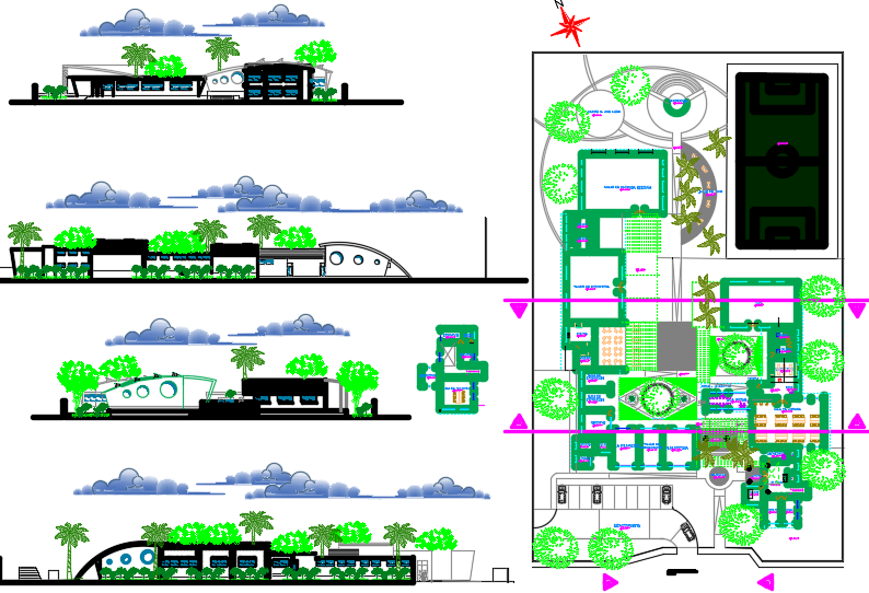 House Dwg file