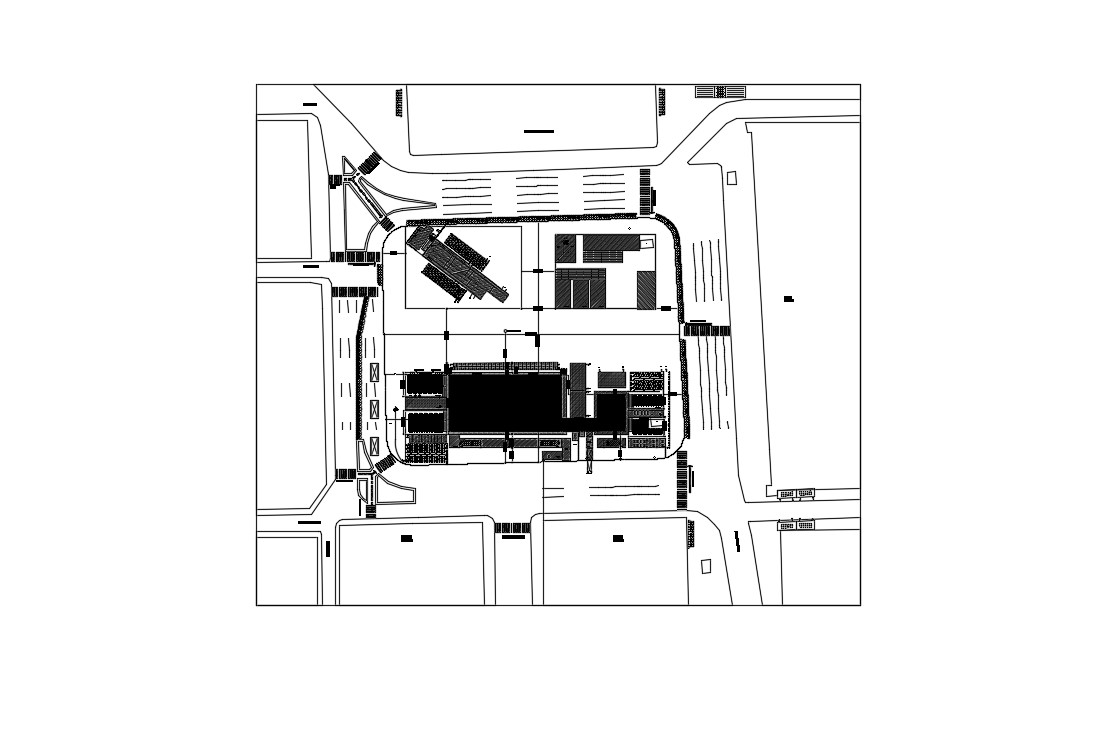 House Layout Pans In AutoCAD File