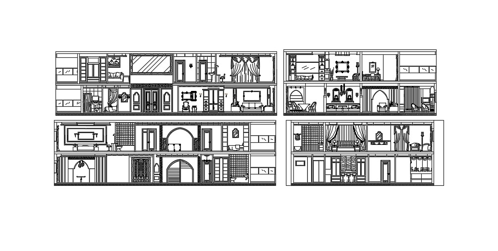 House Section Design In AutoCAD File