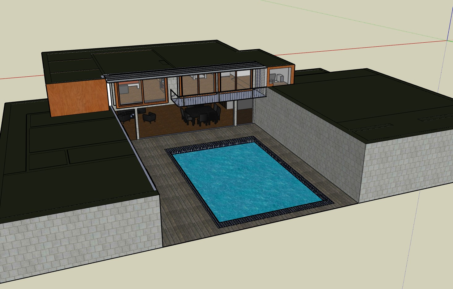 House with a Swimming Pool
