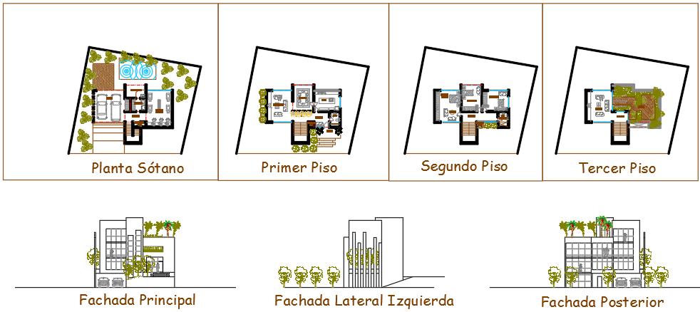 Housing for plants details