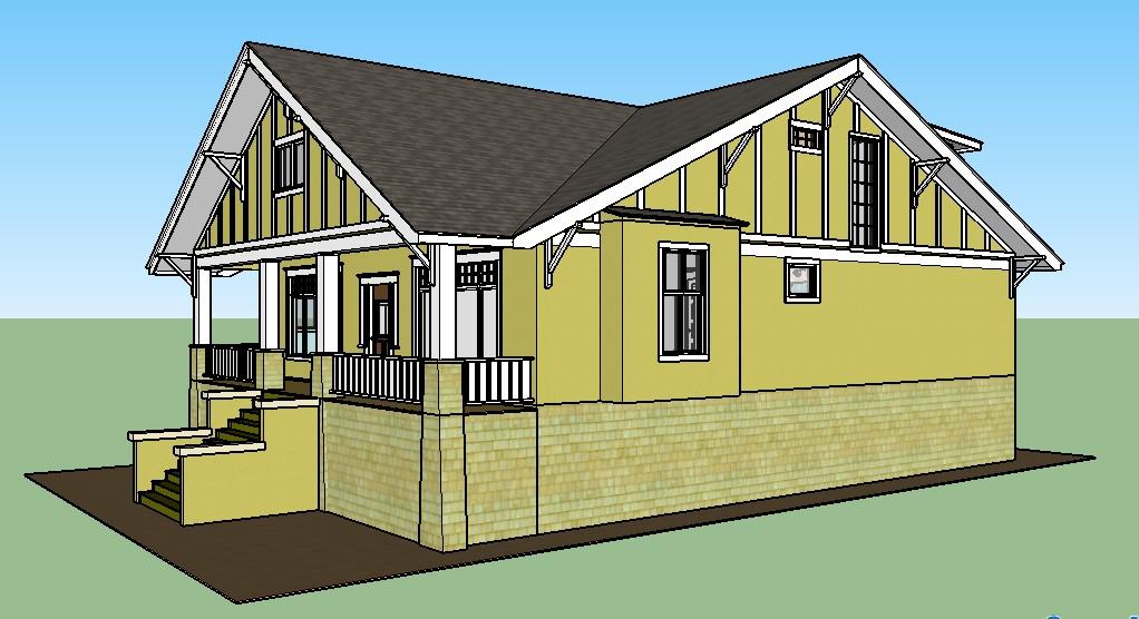 Hut Shaped House