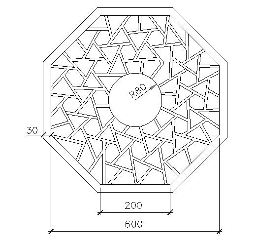 Ice crack window cad blocks design dwg file