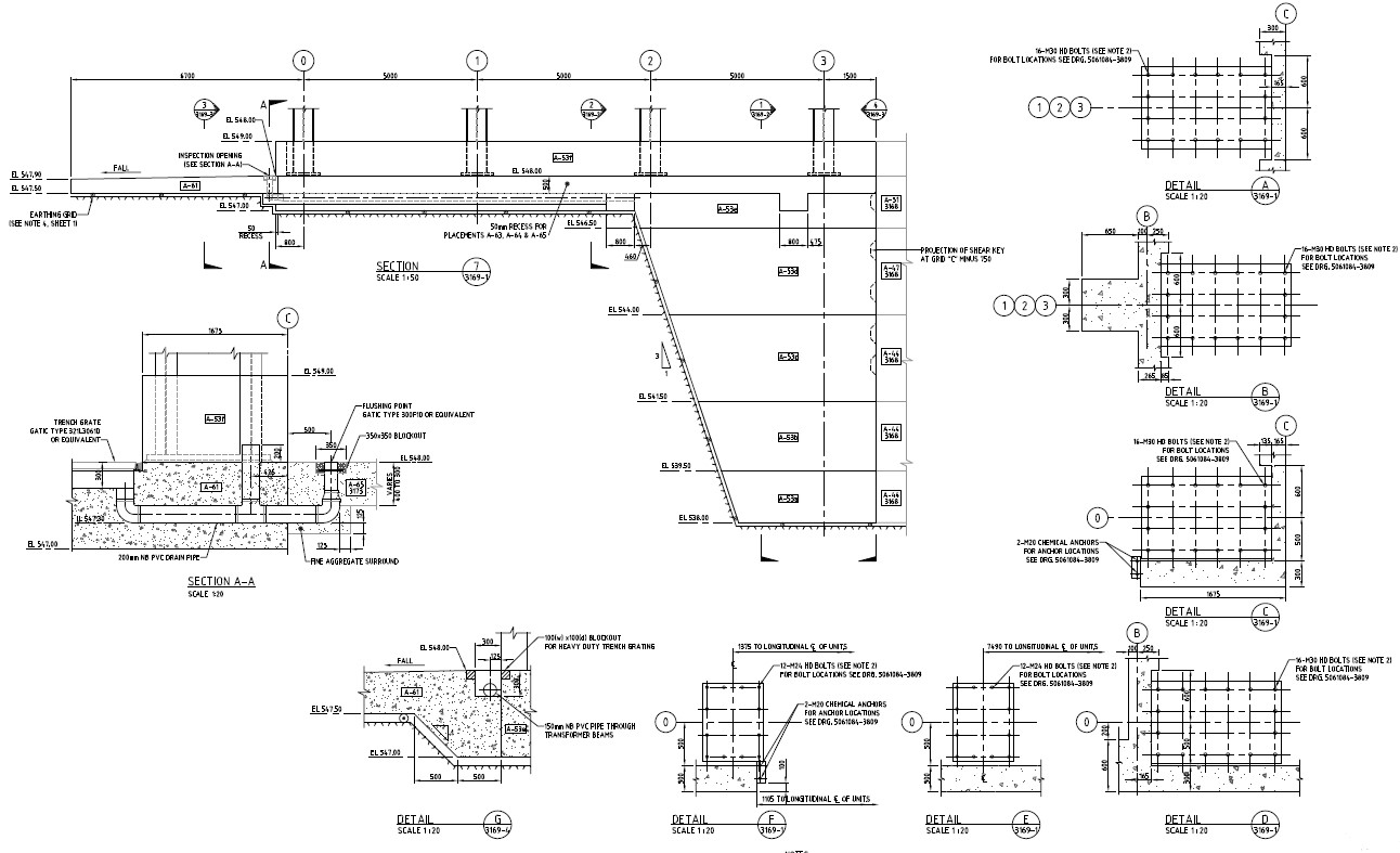 Inspection opening Design of Hydro Power Plant Structure PDF File