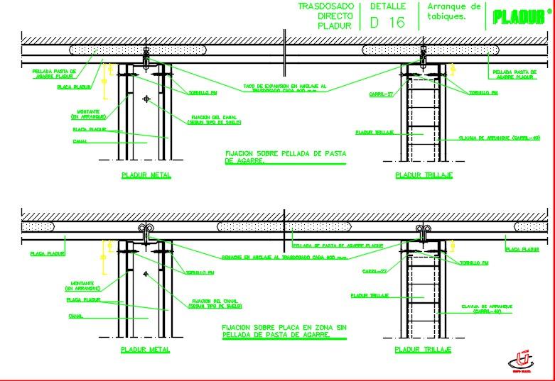 Interior design design detail.