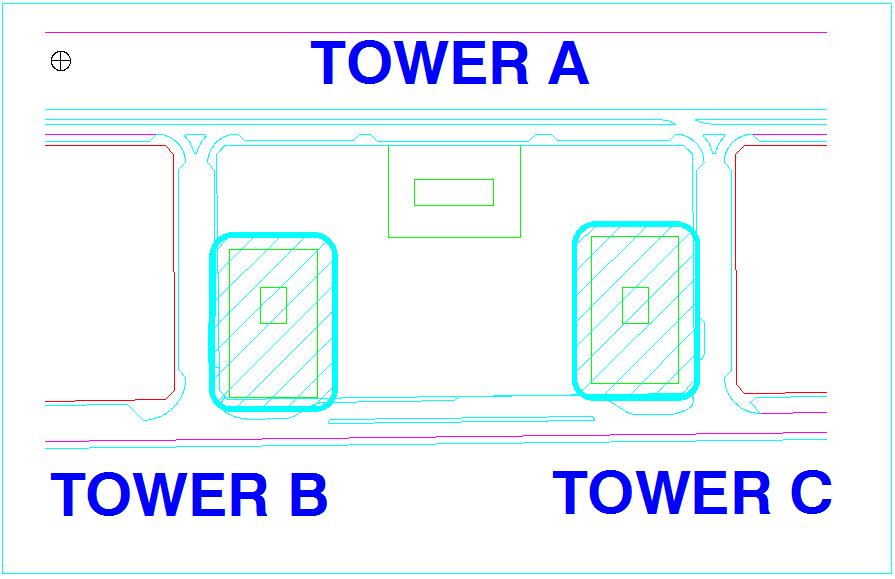 Kaplen tower view of B and C